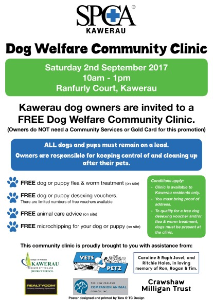 SPCA Dog Clinic 2017
