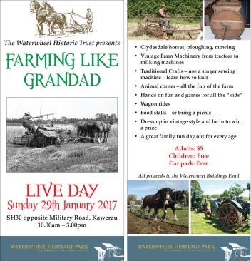 Farming Like Grandad Flyer