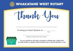 RotaryWestThankYouA5